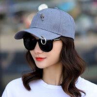 帽子女韩版潮棒球帽户外休闲防晒遮阳帽时尚百搭太阳帽鸭舌帽