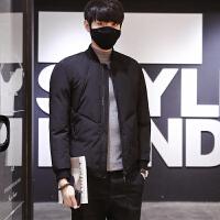 冬季新款短款男士韩版休闲轻薄棉衣时尚潮流外套男