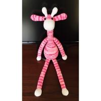 手工DIY钩针编织材料包毛线玩偶娃娃长耳兔长颈鹿情侣礼物送教程