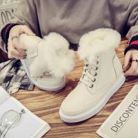 雪地靴女短筒冬季新款韩版棉鞋加绒马丁靴子百搭鞋子秋款女鞋