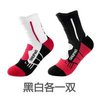 篮球袜子男专业运动袜秋冬中筒防臭防滑毛巾底长筒吸汗高筒 均码