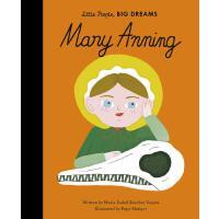 现货 小女孩,大梦想:玛丽・安宁 古生物学家 英文原版 精装绘本 名人传记 Mary Anning (Little Pe