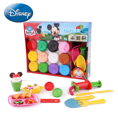 【【领券立减50元】Disney/迪士尼 3d彩泥儿童无毒 橡皮泥粘土玩具套装幼儿园手工泥环保益智 补充装活动专属 儿童早教益智玩具大促