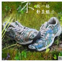 户外徒步鞋低帮登山鞋CS迷彩鞋男鞋防滑轻便透气