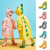 �和�雨鞋男童女童防滑水鞋����雨靴水靴小童�r尚幼�盒『⒎浪��z鞋