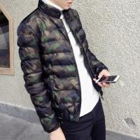 冬装男士立领迷彩棉衣加厚外套 如图色