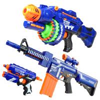 电动连发软弹枪儿童玩具枪套装可发射软子弹枪男孩玩具礼物安全