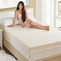 家纺加厚海绵床垫榻榻米可折叠记忆棉1.5m1.8单人学生宿舍1.2米床褥子