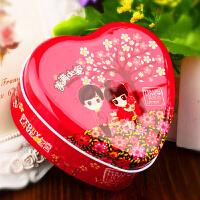 【支持礼品卡】结婚庆用品 马口铁喜糖盒子 个性糖果包装盒子创意心形 婚礼用品q5q