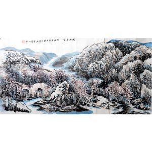 赵振川   《陕北冬雪》