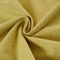 北欧窗帘成品亚麻布料简约现代卧室客厅美式棉麻ins遮光布J