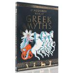 多莱尔的希腊神话书 英文原版绘本 D'Aulaires Book of Greek Myths 外国儿童文学读物 英文