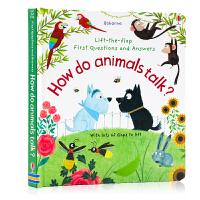 动物如何沟通Questions and Answers How Do Animals Talk? 英文原版 立体小机关