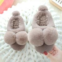 儿童棉拖鞋冬防滑宝宝居家保暖室内包跟棉鞋