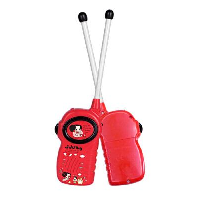 早教家庭亲子互动对讲机玩具迷你无线话筒儿童过家家男孩女孩启蒙益智玩具 互动对讲机
