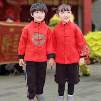 唐装冬季汉服新年装衣服宝宝儿童中国风童装礼过年套装