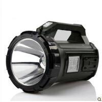 雅格YG-5701 5W 手提灯户外充电探照灯 强光远程巡逻灯照明灯