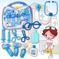 【满200减100】儿童过家家女童医生玩具套装3-4-5-6周岁女孩宝宝仿真打针听诊器