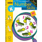 Number Skill (Little Golden Book, Grade K) 数字技巧(金色童书,学龄前练习册)9780307036650