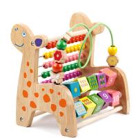 婴儿绕珠串珠益智玩具6-12个月男女宝宝1-3周岁儿童早教积木
