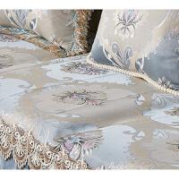 欧式沙发垫四季通用客厅123组合皮沙发坐靠垫贵妃全包套