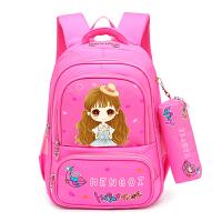 3-5年级儿童书包女 女童可爱双肩包小学生书包