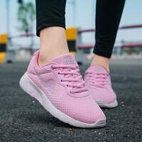【满100减60】奇安达女跑鞋2017新款轻量缓震柔软透气运动休闲跑步鞋