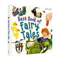 Best Book of Fairy Tales 经典童话故事精装合集本 英文原版进口图书 儿童英语绘本