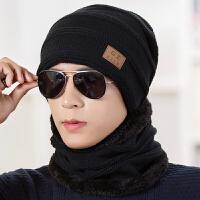 男士帽子冬季保暖针织帽护耳棉帽男冬天韩版潮青年休闲毛线帽防风