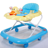 婴幼儿童学步车多功能可调节折叠助步音乐玩具手推车