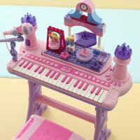儿童电子琴 女童孩宝宝钢琴玩具琴带麦克风1-3-6岁生日礼物初学品