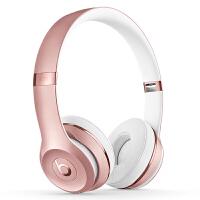 【当当自营】Beats Solo3 Wireless 头戴式 蓝牙无线耳机 手机耳机 游戏耳机-玫瑰金色 MNET2P