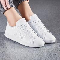 adidas阿迪达斯NEO女子板鞋2018新款小白鞋休闲运动鞋DB0893