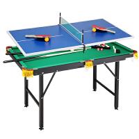 儿童台球桌 家用斯诺克桌球台标准迷你折叠大号玩具 桌球台