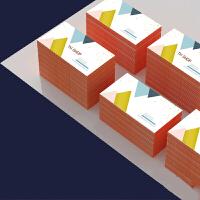 印名片制作设计打印卡片定制公司商务二维码双面pvc名片印刷