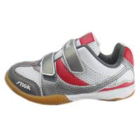 STIGA 斯蒂卡 粘扣防滑乒乓球鞋 儿童鞋 G1208923 红色