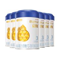 惠氏�①x(Wyeth illuma)3段奶粉 ����m�M口 12-36月幼�号浞� (900克*6罐)