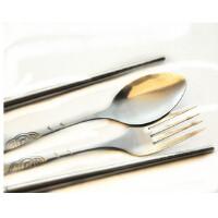 GASLION 格狮伦 野餐套具三件套 不锈钢汤匙 筷子 GHW036