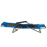 【当当自营】阿栗坞 折叠躺椅 两用休闲折叠躺椅 躺椅 休闲椅 椅子 天蓝色 2009