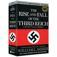 The Rise and Fall of the Third Reich 英文原版 第三帝国的兴亡 英文版 反映纳粹德