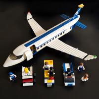 儿童乐高积木男孩子9益智力拼装玩具飞机系列5-12岁客机模型拼图8