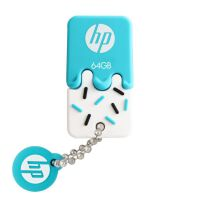 [大部分地区包邮]  惠普(HP)V175W 8g /16g /32g /64g USB2.0 橡胶雪糕迷你U盘