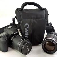 单反相机包三角包60D 6D7D 70D80D 5D2 5D3便携单反包腰包