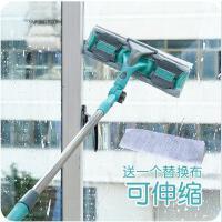 玻璃刮 居家多功能可拆擦玻璃器伸缩杆长柄玻璃清洁工具