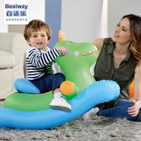 婴幼儿充气滚筒 宝宝学步爬行玩具 充气摇摇马婴儿玩具
