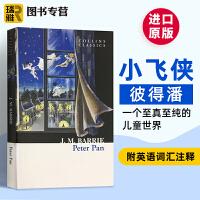 英文原版小说 Peter Pan 彼得潘童话故事书 小飞侠 柯林斯经典系列 儿童文学经典 英文版 现货正版进口英语书籍