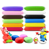 超轻粘土24色彩泥安全无毒太空橡皮泥糖果幼儿园儿童diy手工玩具