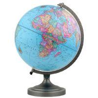 【正版现货】博目地球仪:30cm中英文政区地球仪(金属支架) 北京博目地图制品有限公司 9787503040023 测