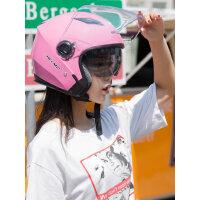 电动摩托车头盔女冬季电瓶女士四季通用男安全帽头灰保暖可爱夏季