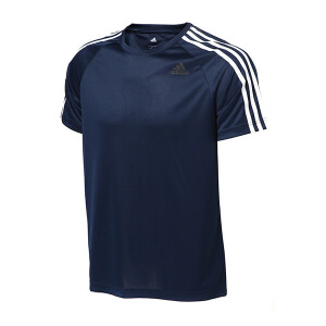 adidas阿迪达斯男装短袖T恤2018年新款综合训练运动服BK0969